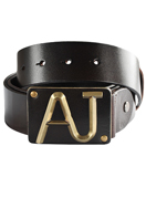 ARMANI JEANS Men's Leather Belt #11