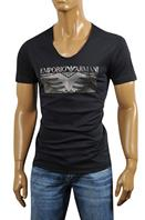 Men's V-Neck Cotton T-Shirt #108