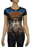 CHRISTIAN AUDIGIER Multi Print Lady's Top #72