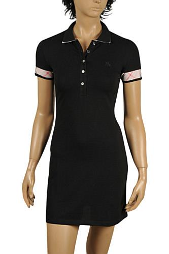 BURBERRY Cotton Short Sleeve Dress #210