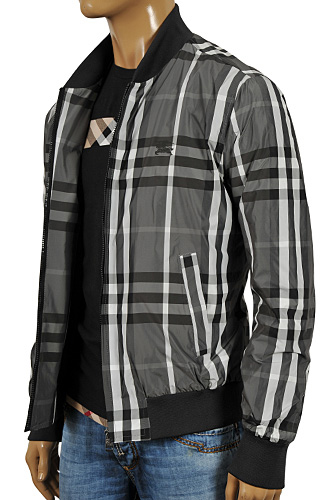 BURBERRY Men's Zip Up Jacket #35