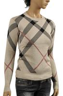 BURBERRY Ladies' Crew Neck Sweater #175