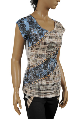 BURBERRY Ladies' Short Sleeve Top/Tunic #147