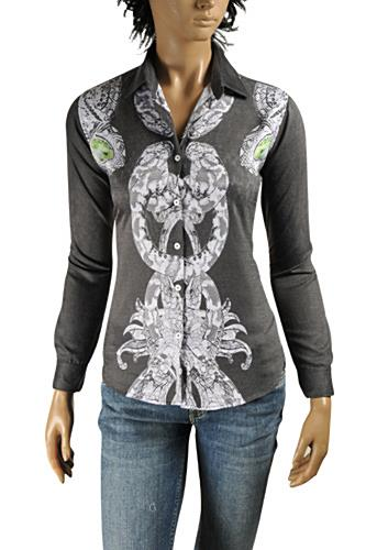 ROBERTO CAVALLI Ladies' Dress Shirt