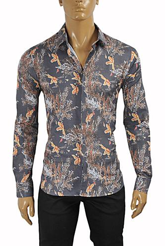 ROBERTO CAVALLI Slim Fit Men's Dress Shirt #370