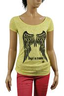 ROBERTO CAVALLI Ladies Short Sleeve Tee #111