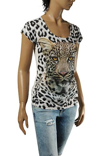 ROBERTO CAVALLI Ladies Short Sleeve Top #144
