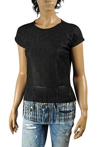 ROBERTO CAVALLI Ladies Short Sleeve Top #153