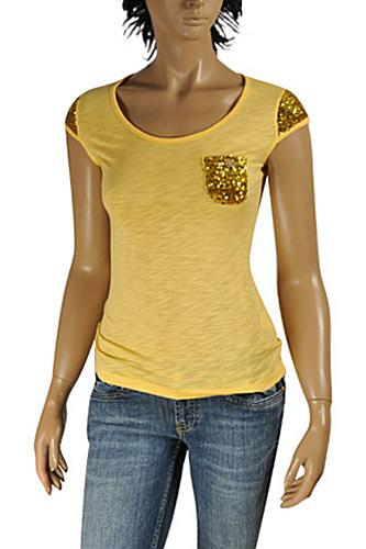 ROBERTO CAVALLI Ladies Short Sleeve Top #157