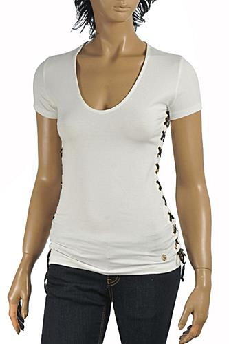 ROBERTO CAVALLI Ladies Short Sleeve Top #167