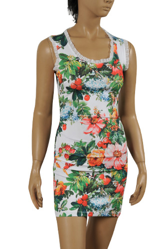 DOLCE & GABBANA Sleeveless Summer Dress #219