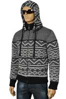 DOLCE & GABBANA Men's Knit Hooded Warm Jacket #358