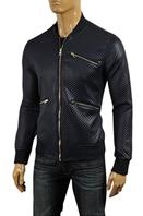 DOLCE & GABBANA Men's Artificial Leather Jacket #409
