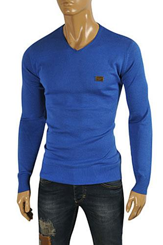 DOLCE & GABBANA Men's Knit Fitted Sweater #240