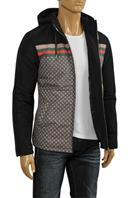 GUCCI Men's Hooded Warm Jacket #140