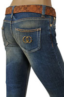 GUCCI Ladies Boot Cut Jeans With Belt #65