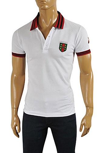 GUCCI Men's Cotton Polo Shirt #337