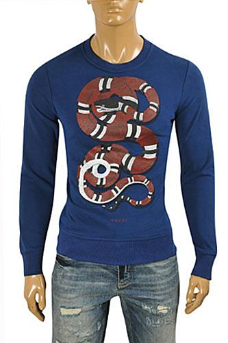 GUCCI Men's Stripe Fitted Knit Sweater #101