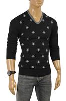 DF NEW STYLE, GUCCI Men's V-Neck Knit Sweater #103