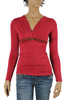 GUCCI Ladies Long Sleeve Top #193