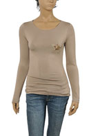 GUCCI Ladies Long Sleeve Top #199
