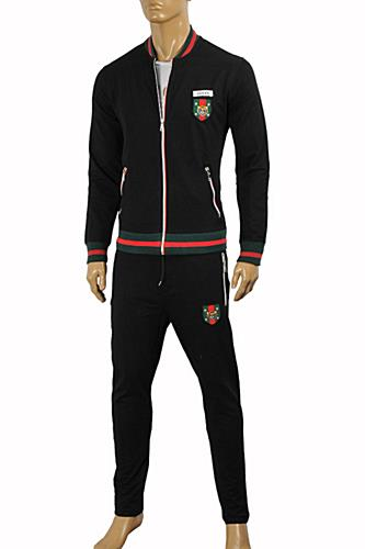 GUCCI Men's Zip Up Jogging Suit #159