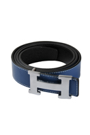 HERMES Men's Leather Reversible Belt #4