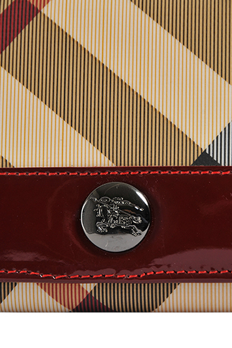 Womens Designer Clothes | BURBERRY Signature Check Wallet #30