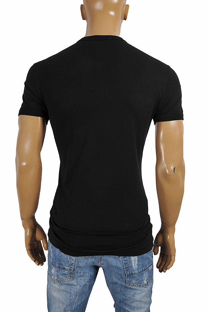 Mens Designer Clothes | DOLCE & GABBANA men's polo shirt with front logo appliqué 468