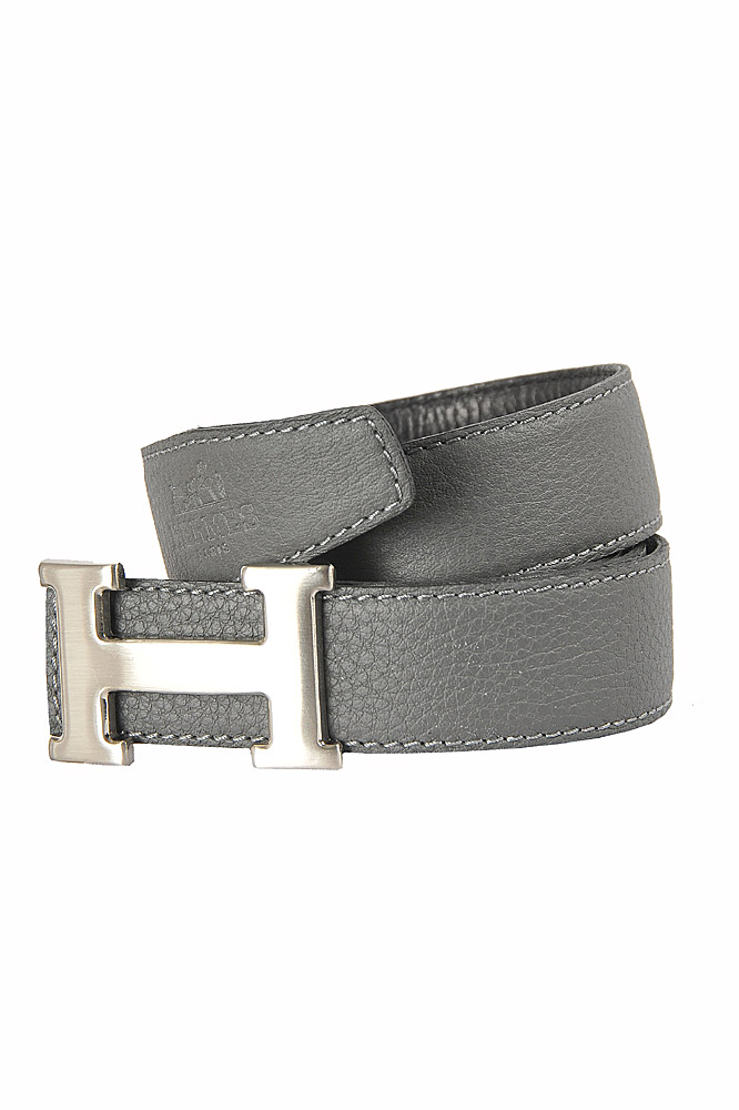 Mens Designer Clothes | HERMES Men's Reversible Leather Belt 53