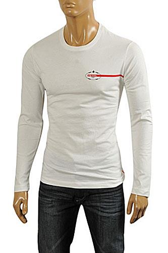 PRADA Men's Long Sleeve Fitted Shirt #87