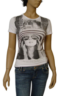 Versace Ladies Short Sleeve Tee #57