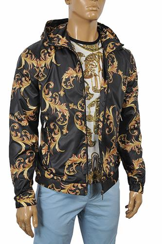 VERSACE Men's Zip up Hooded Jacket #23
